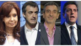 Cristina, Randazzo, Massa y Bullrich, los nombres fuerte de la Provincia