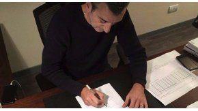 Así firmaba Randazzo su precandidatura