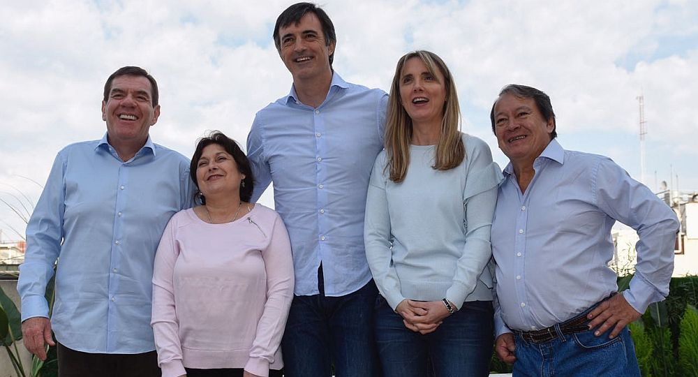 La foto de los candidatos de Cambiemos en Provincia