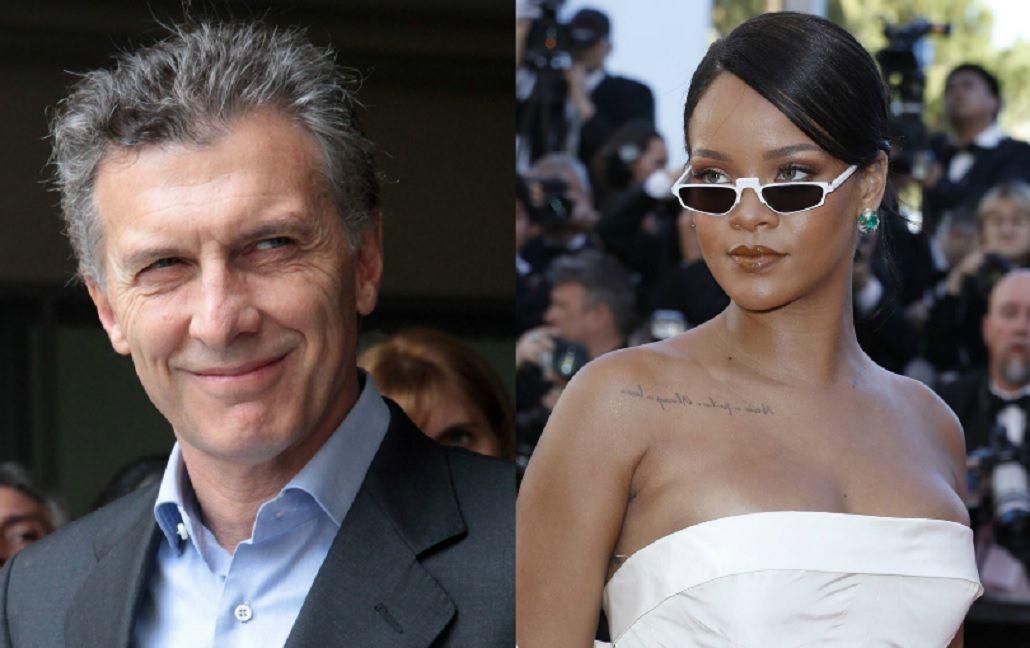 Macri le respondió a Rihanna por el reclamo sobre la educación