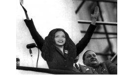 Tras increpar a Macri, Rihanna es Evita para las redes sociales