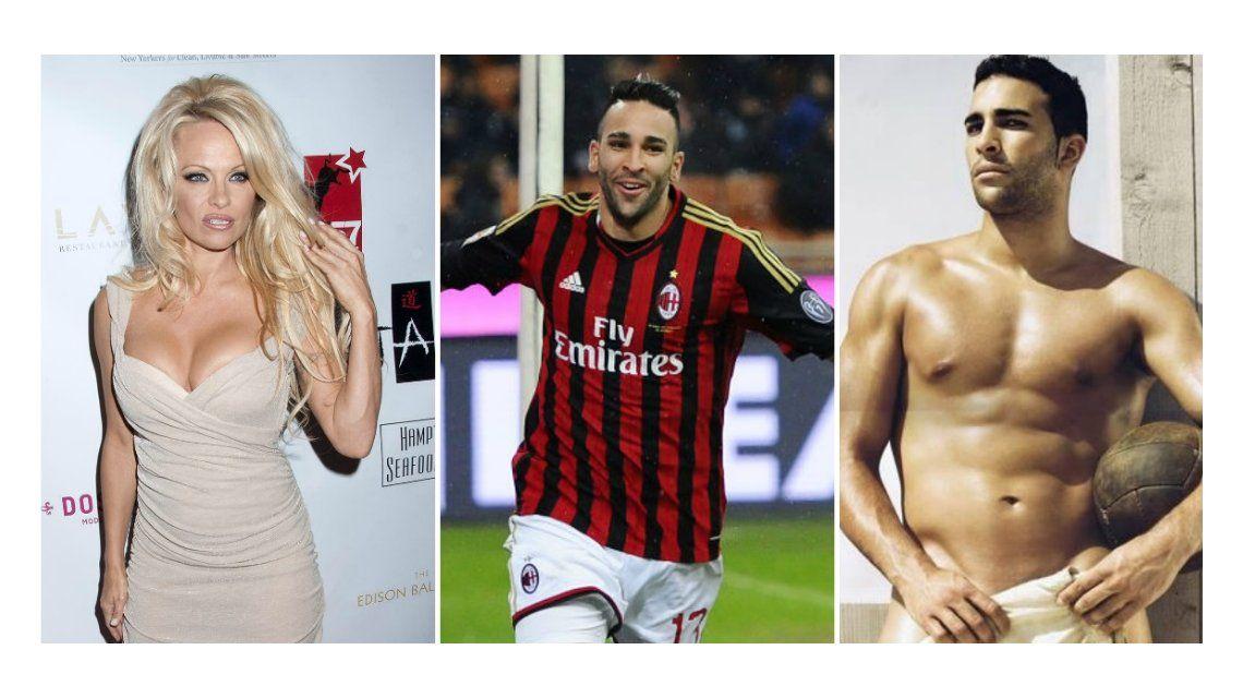 Pamela Anderson estaría de novia con el futbolista francés Adil Rami