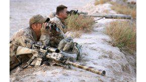 Un sniper le dio a un terrorista que estaba a 3.450 metros