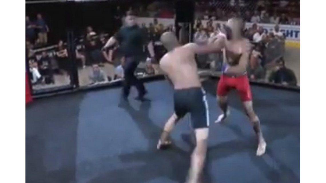 MMA: Josh Jones noqueó a Anthony Spires