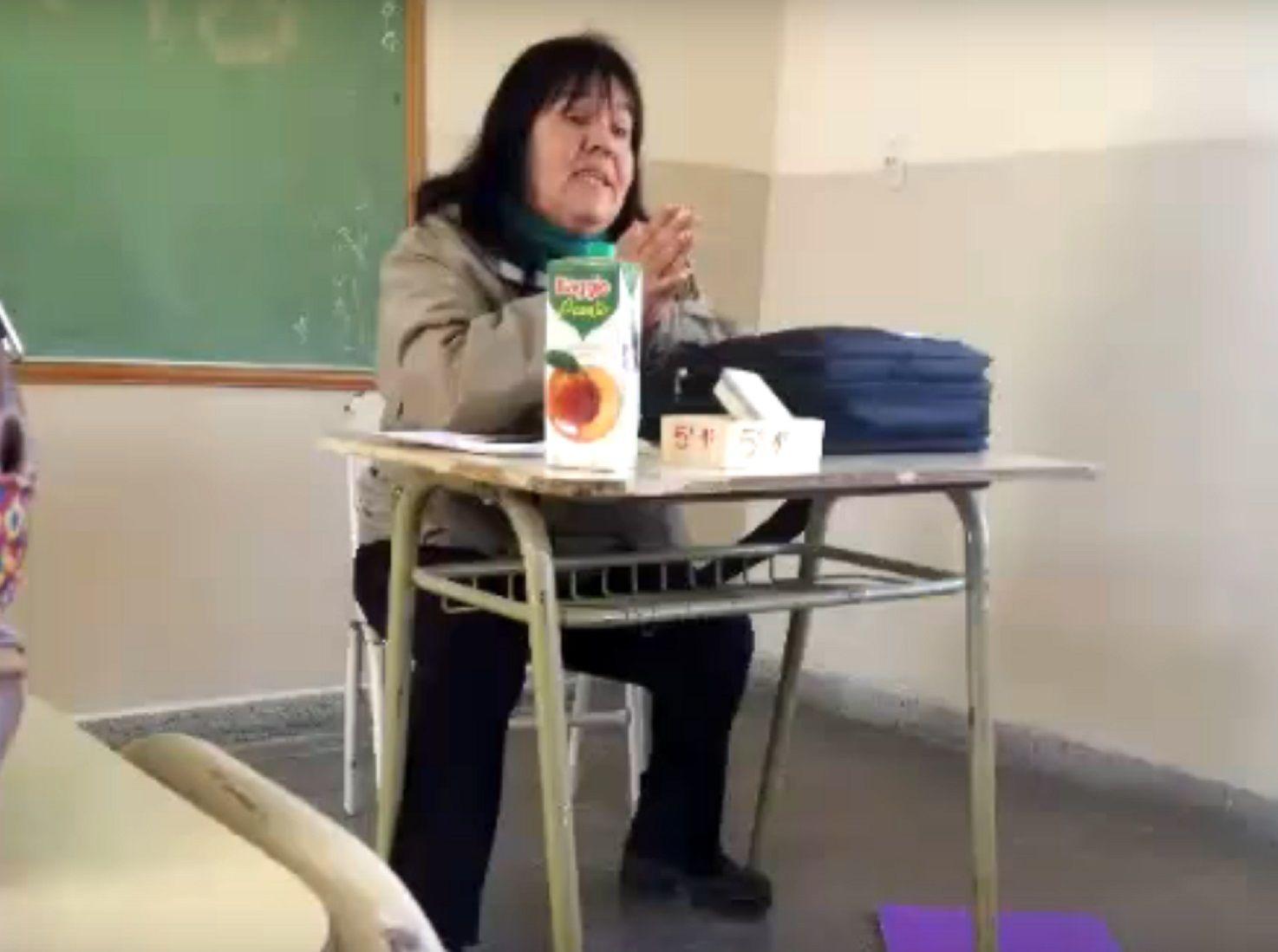 El insulto de una docente a sus alumnos