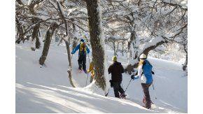 Hay tiempo para toda clase de actividades en la nieve
