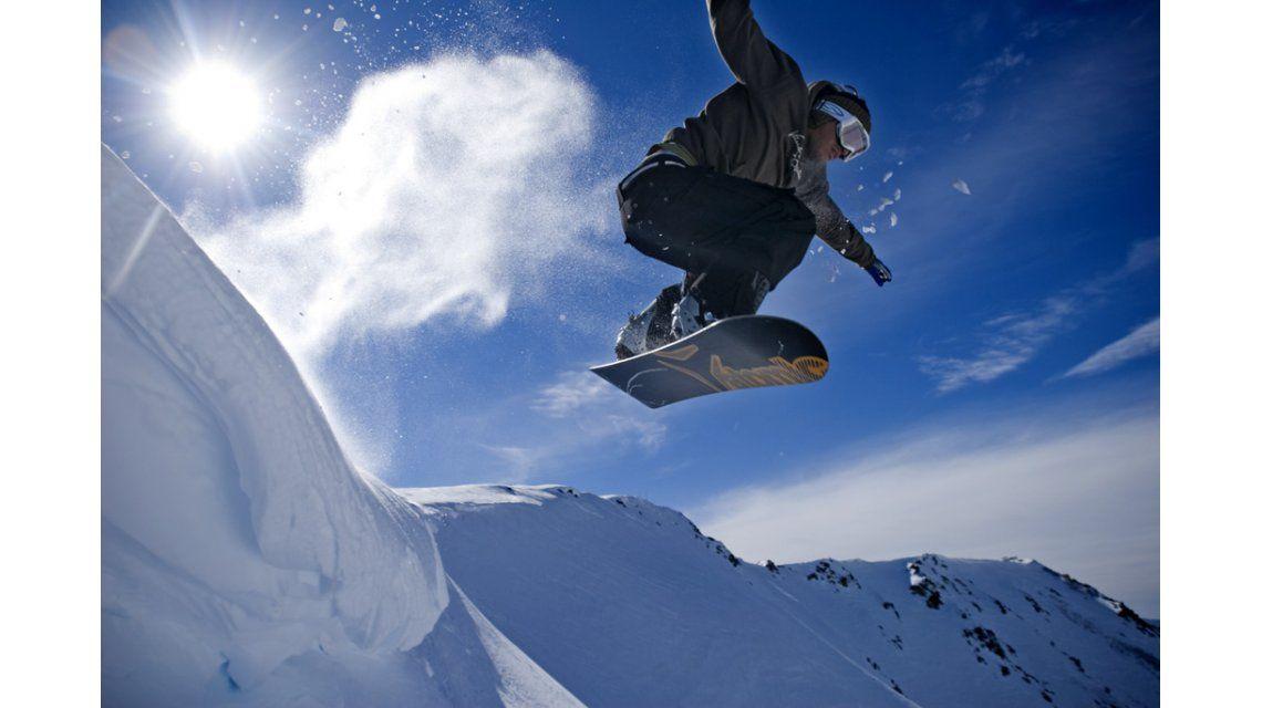 Snowboard en La Hoya