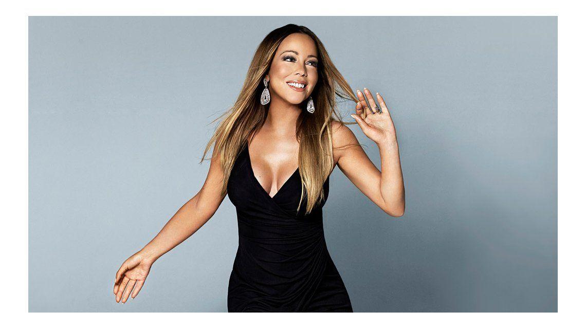 Las fotos que develan el aumento de peso de Mariah Carey