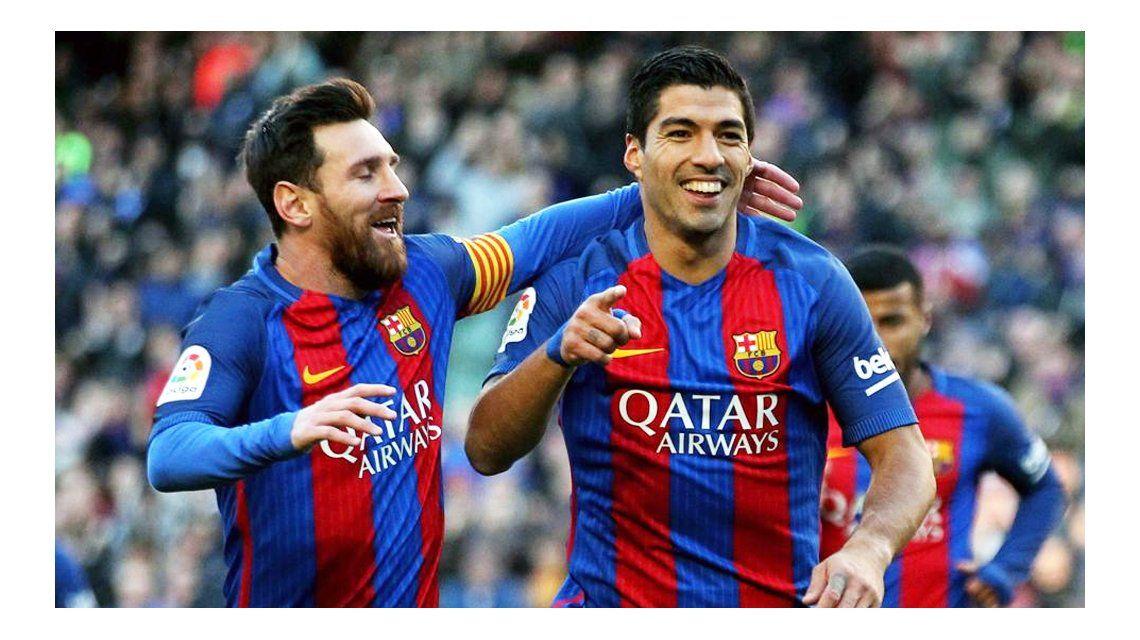 Suárez convenció a Messi en 2016 para que no deje en Barcelona