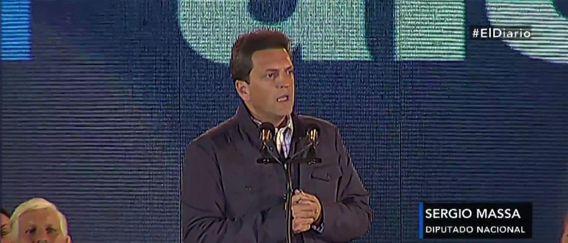 En campaña, Massa propone instalar 12 mil sirenas para combatir la inseguridad