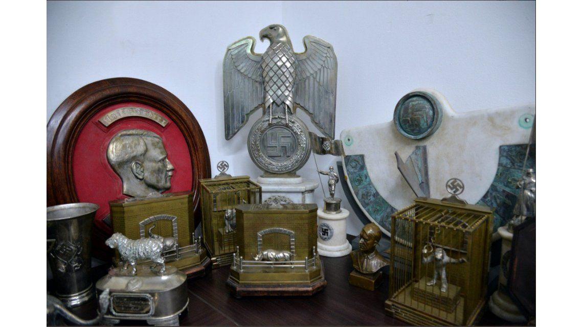 Algunos de los objetos secuestrados