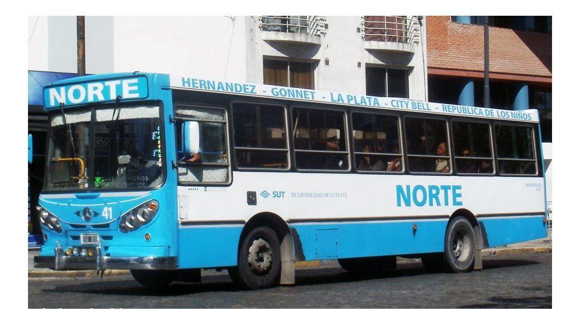 La agresión ocurrió en el colectivo Norte