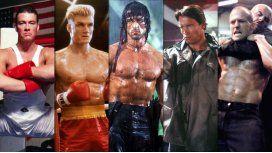 Jean-Claude Van Damme, Dolph Lundgren, Schwarzenegger, Stallone y Jason Statham