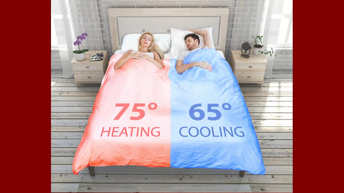 Dos en Uno: inventaron un acolchado que calienta y hace la cama