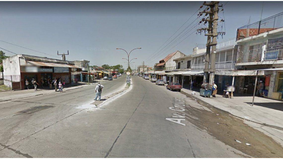 Avenida Crovara y Rucci