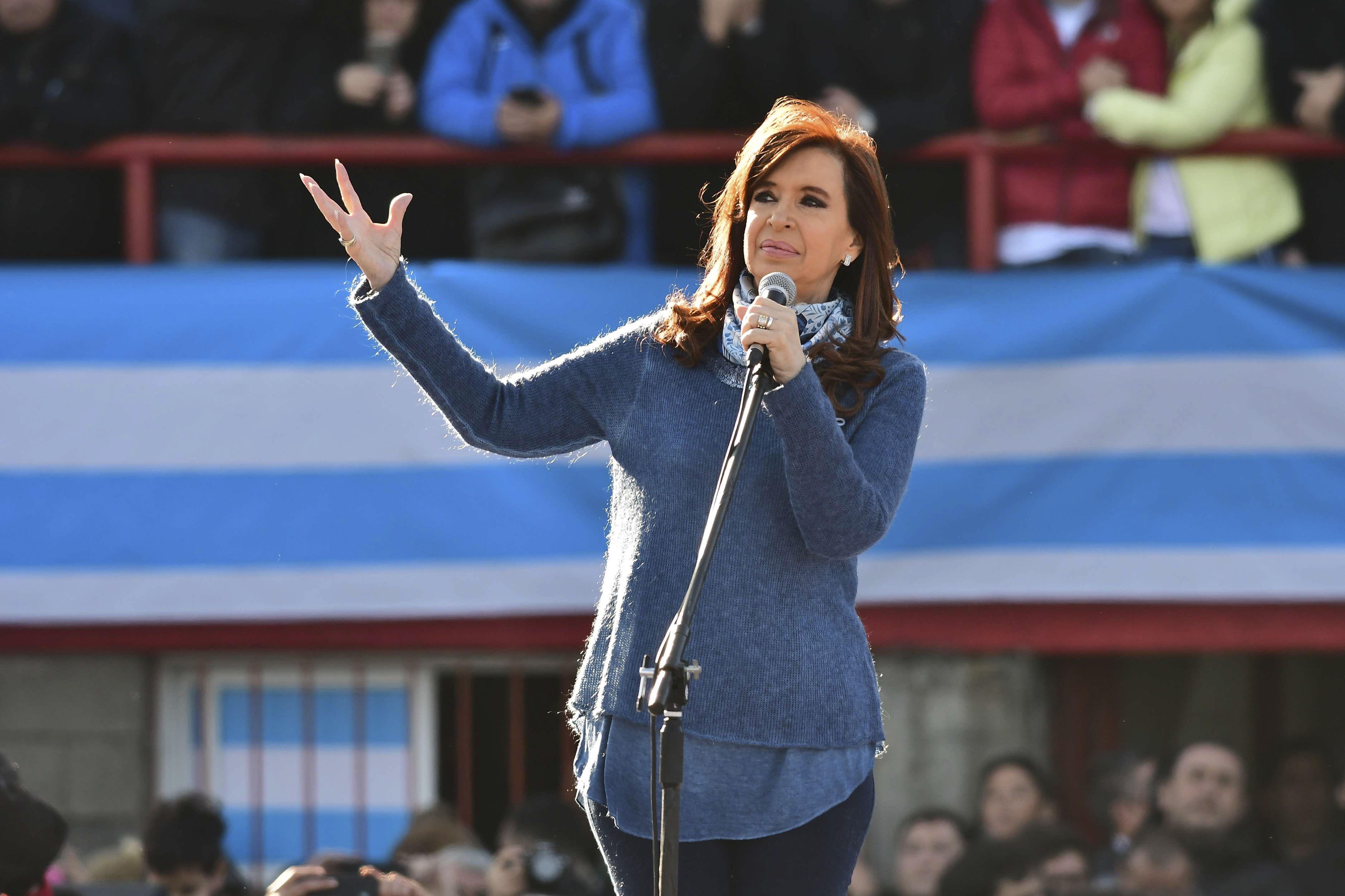Cristina lanzó Unidad Ciudadana