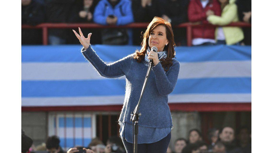 Cristina Kirchner confirmó su candidatura: estará acompañada por Taiana