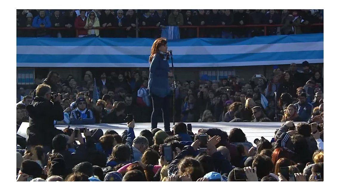Las 10 mejores frases de Cristina en el lanzamiento de Unidad Ciudadana