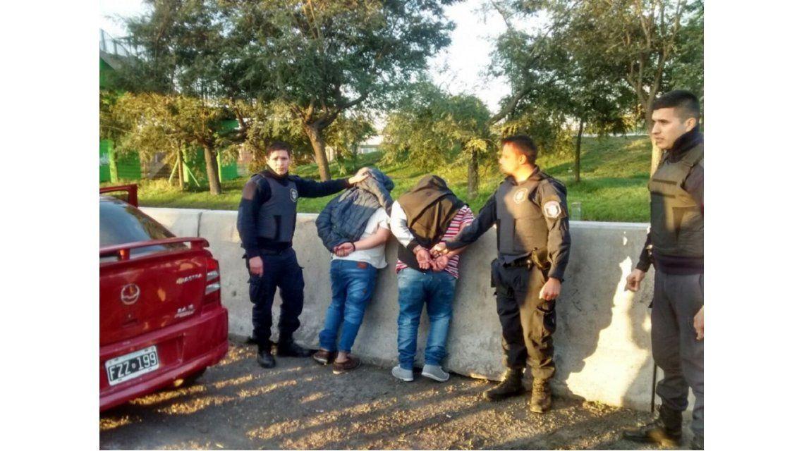 El momento de la detención