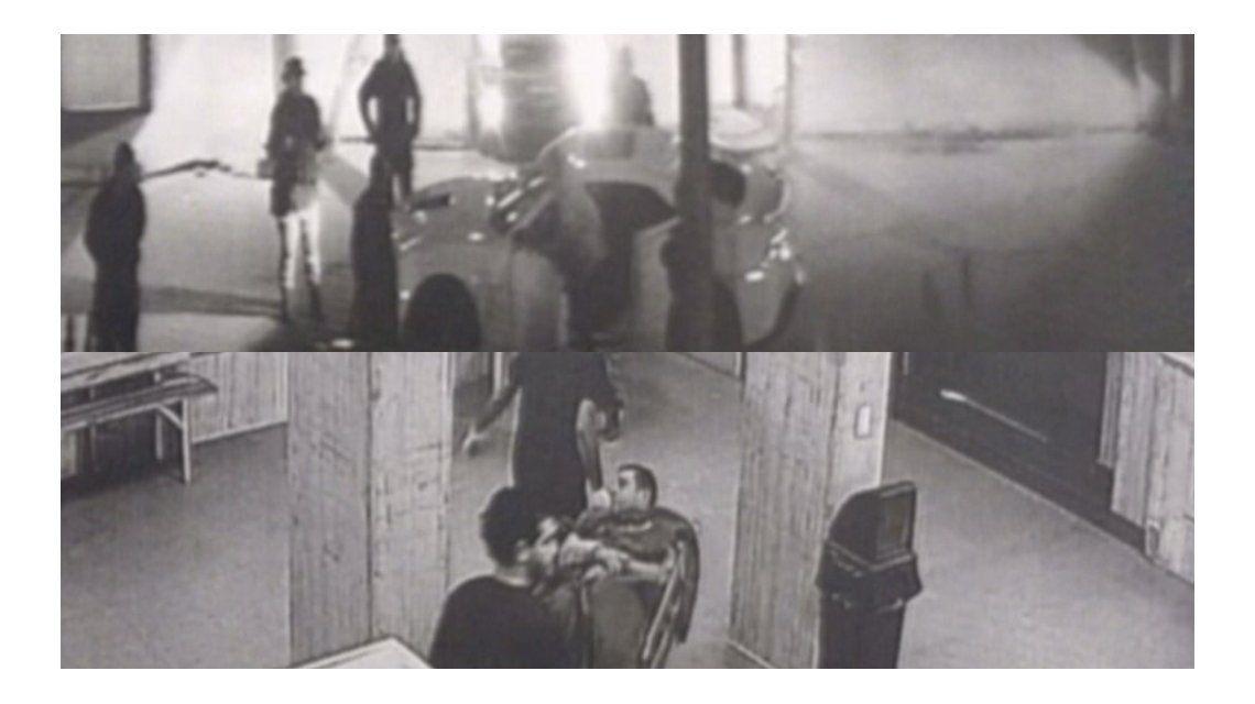 Las imágenes de la persecusión y detención
