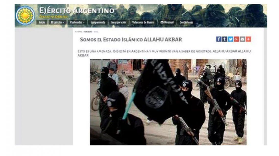 Ahora la víctima del hackeo fue el ejército argentino
