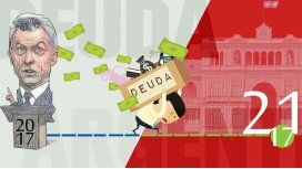 Pesada herencia: Macri endeudará al país por un siglo