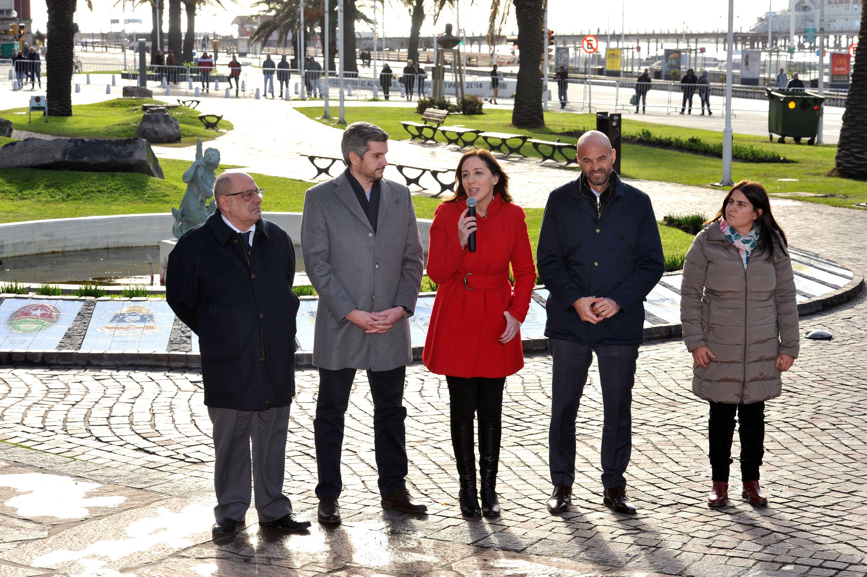 Vidal respondió a una protesta en su contra en Mar del Plata