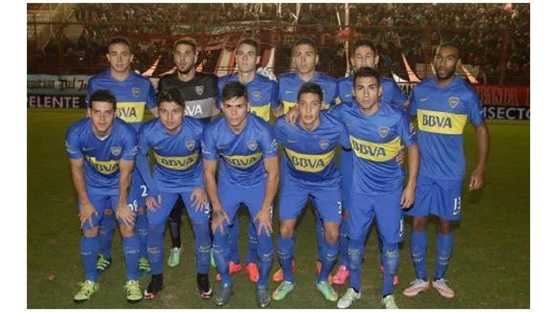 El delantero debutó con la camiseta de Boca frente a Argentinos en 2016