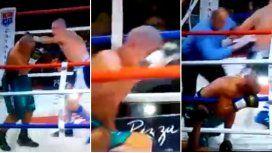 Un boxeador argentino quedó en coma luego de este KO