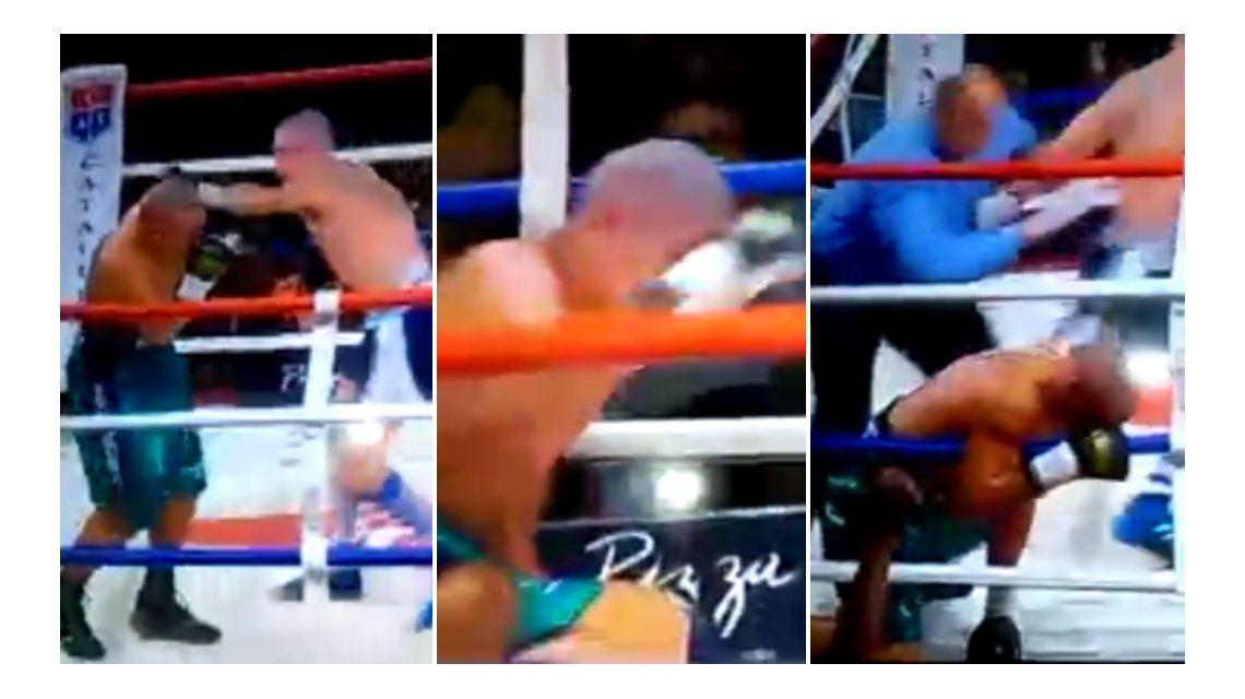 VIDEO: El formoseño Saúl Peralta quedó en coma luego del KO ante Araujo