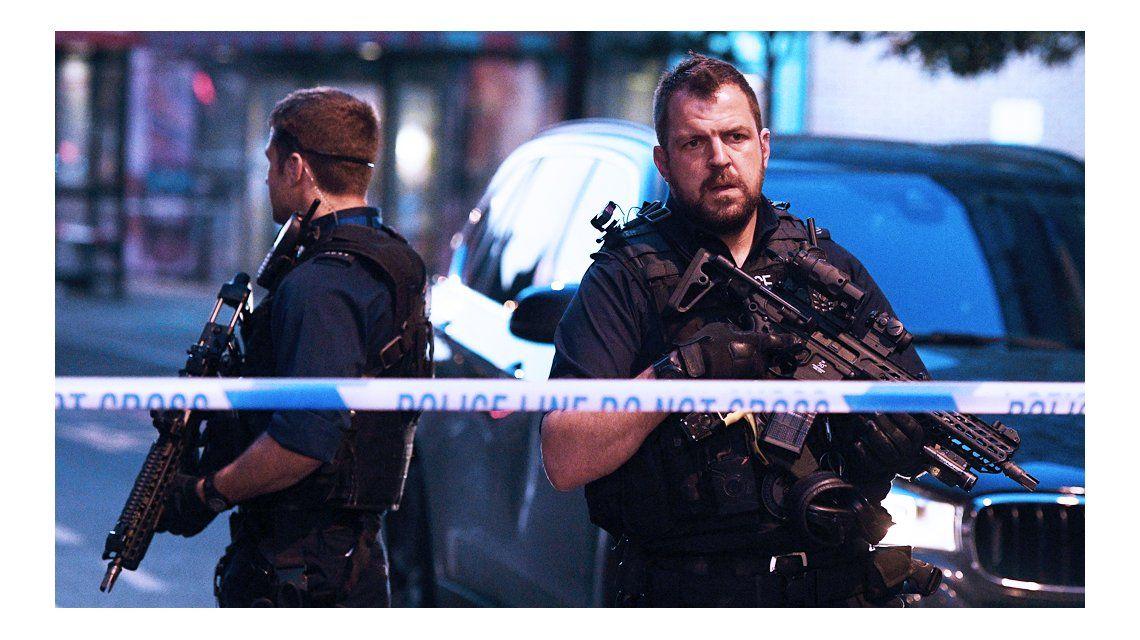 Una camioneta atropelló a musulmanes en Londres