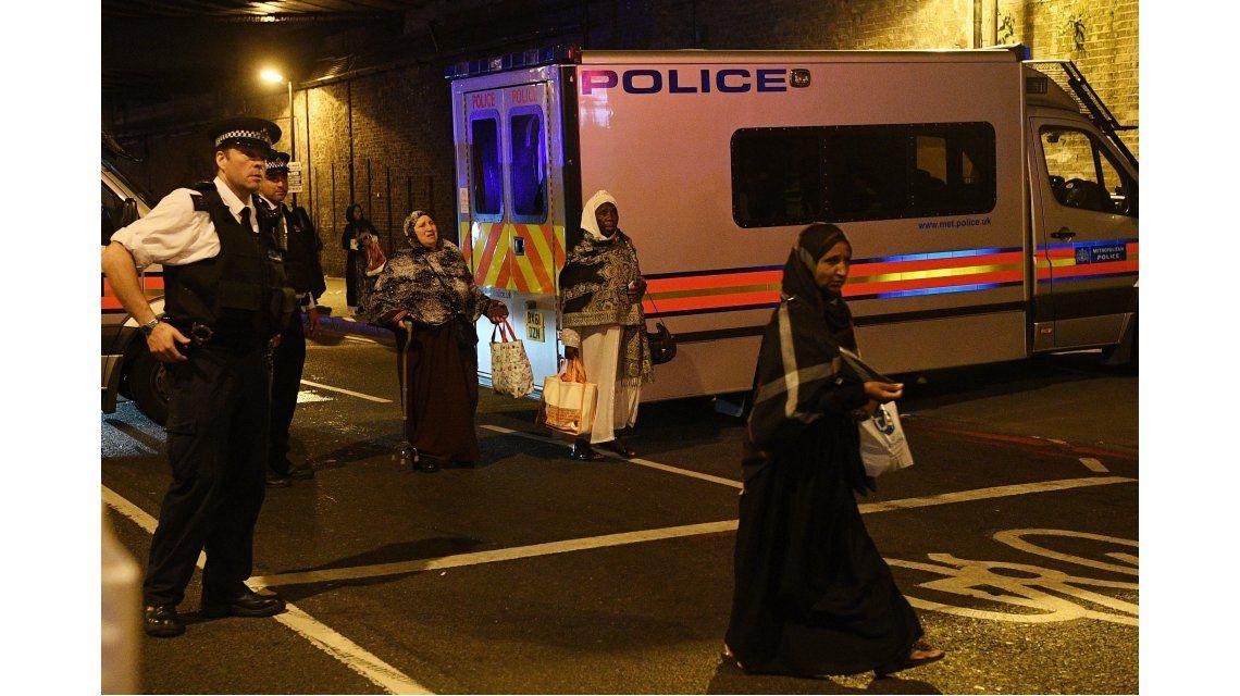 Atropellaron a fieles musulmanes en Londres