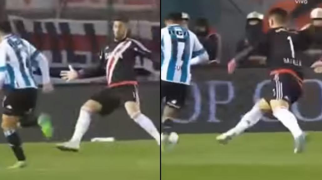 VIDEO: El error de Batalla que terminó en el gol de Acuña