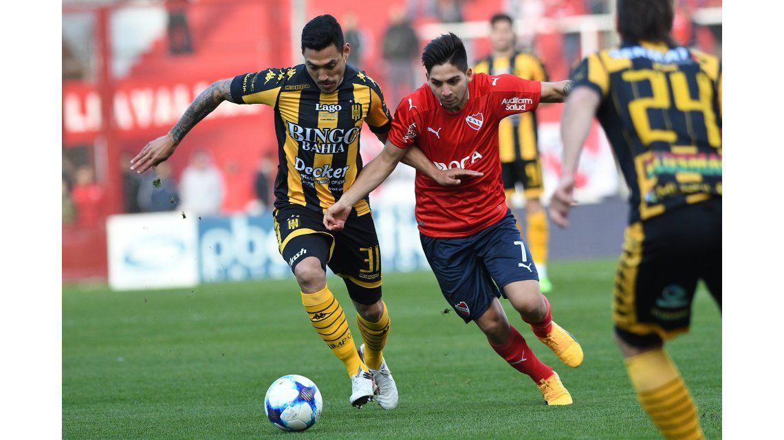 Independiente no aguantó ante Olimpo y perdió dos puntos claves