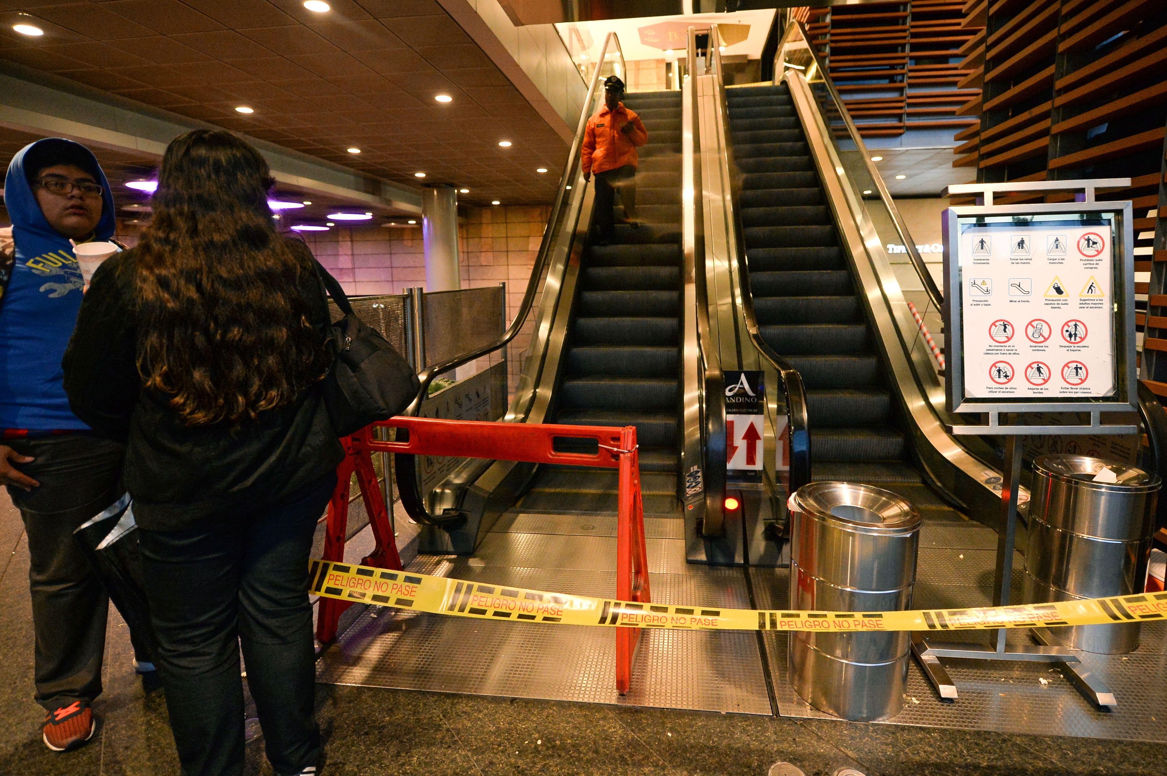 Atentado en shopping de Bogotá