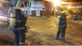 Fueron apagar un incendio y se encontraron con un asado