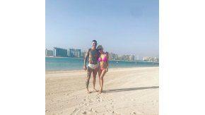 Wanda Nara y Mauro Icardi, hot en Dubai