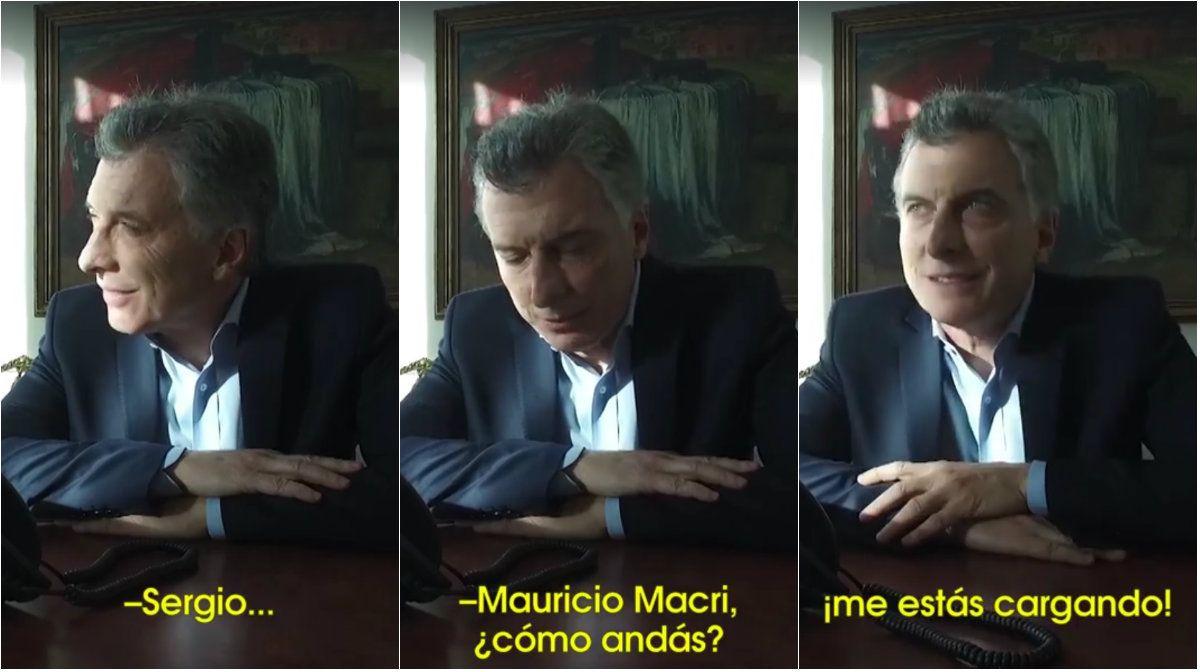 Macri llamó a un vecino que le escribió una carta