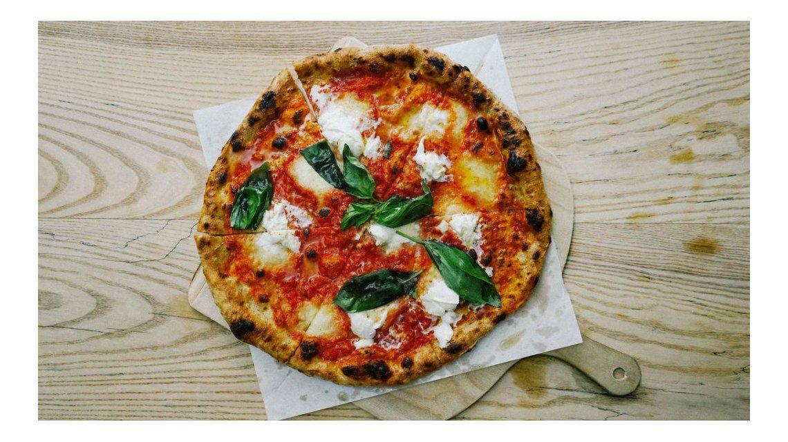 El resultado final es una pizza sustentable