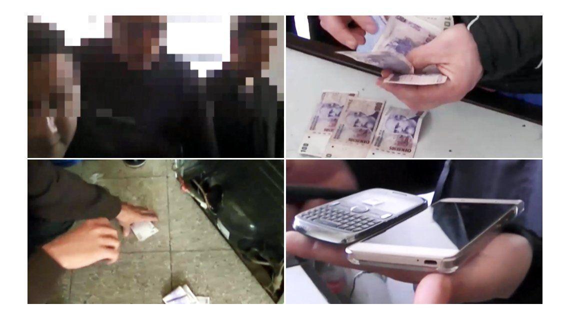 Así se realizó la entrega controlada del dinero para descubrir a los policías coimeros