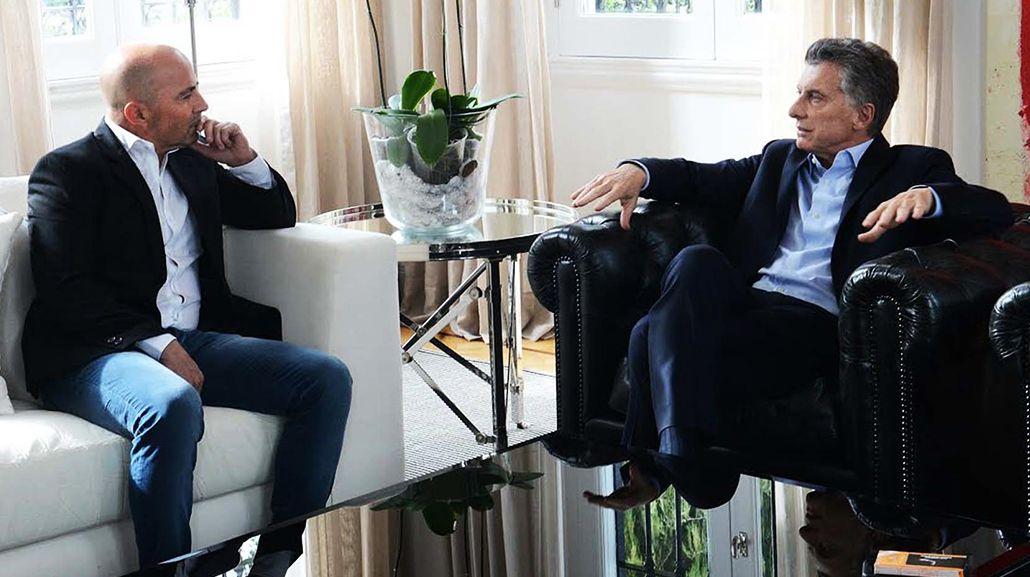 Sampaoli y Macri se reúnen en Olivos