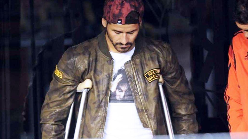 La dura lesión de Rodrigo Mora