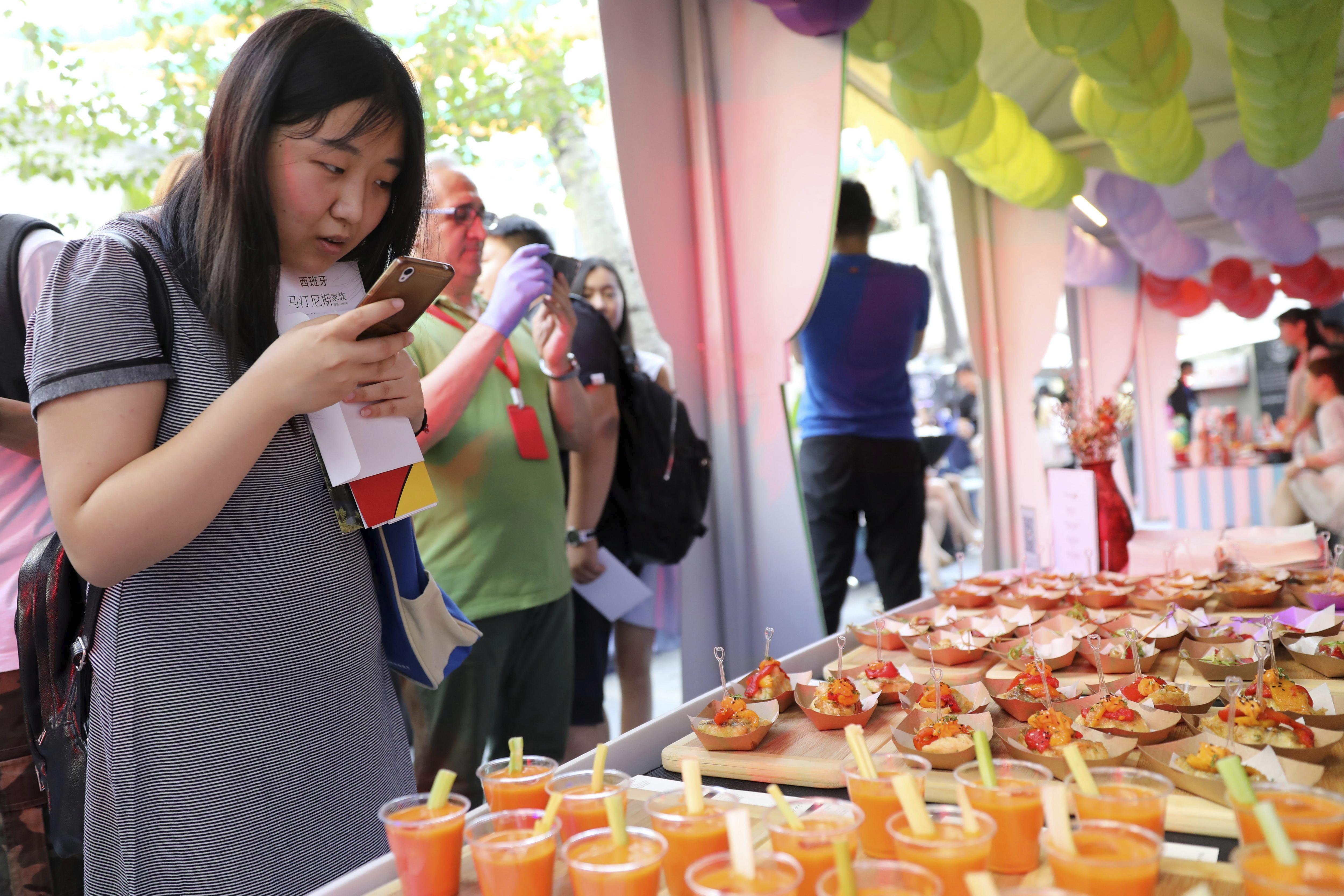 Una foodie china vive la experiencia de España