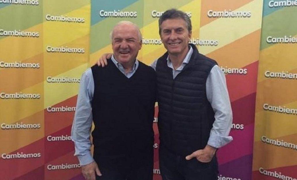 Fernando Niembro y Mauricio Macri