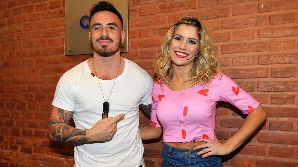 El beso de Laurita Fernández y Fede Bal