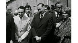 Héctor Magnetto, Jorge Rafael Videla y Ernestina Herrera de Noble