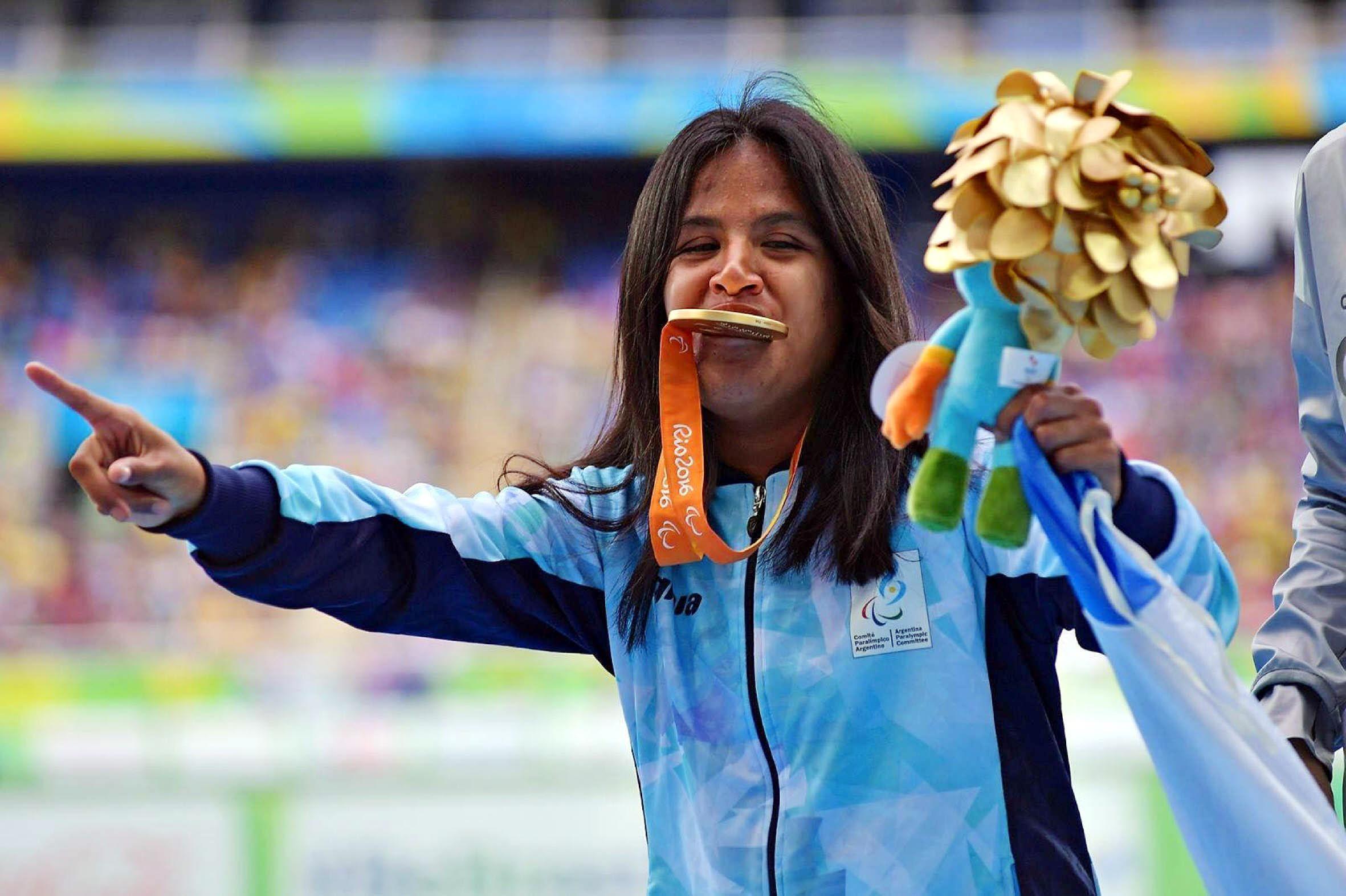 Yanina Martinez obtuvo la medalla dorada en Río 2016