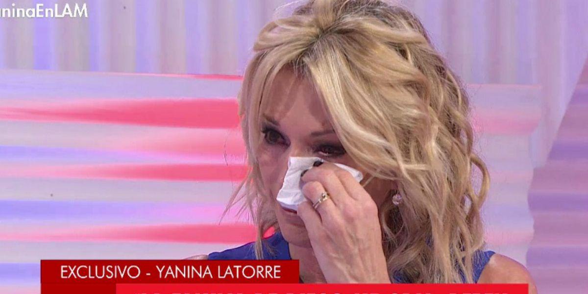 Yanina Latorre se quebró