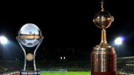 Copa Sudamericana y Copa Libertadores