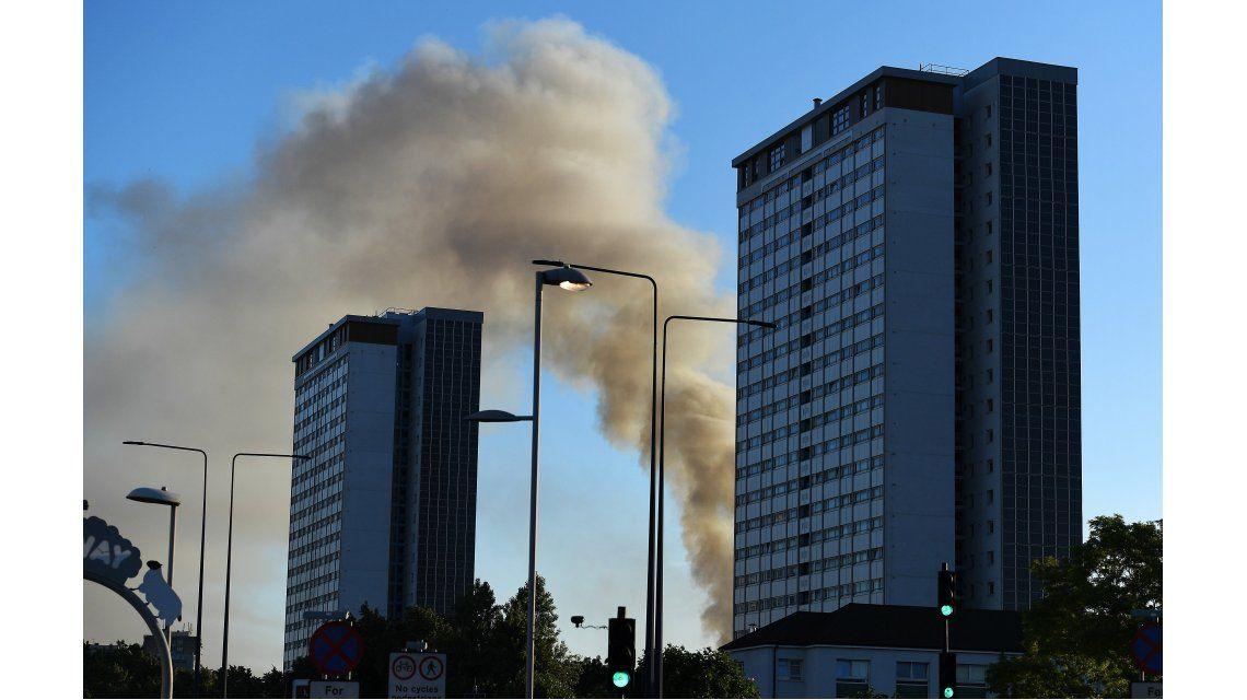 Gran Incendio de Londres en las Grenfell Towers